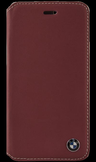 Чехол-книжка BMW BMFLBKP6CLR для Apple iPhone 6, кожа / пластик, красныйЧехлы и сумочки<br>Чехол BMW  поможет не только защитить ваш iPhone 6 от повреждений, но и сделает обращение с ним более удобным, а сам аппарат будет выглядеть еще более элегантным.<br><br>Colour: Красный