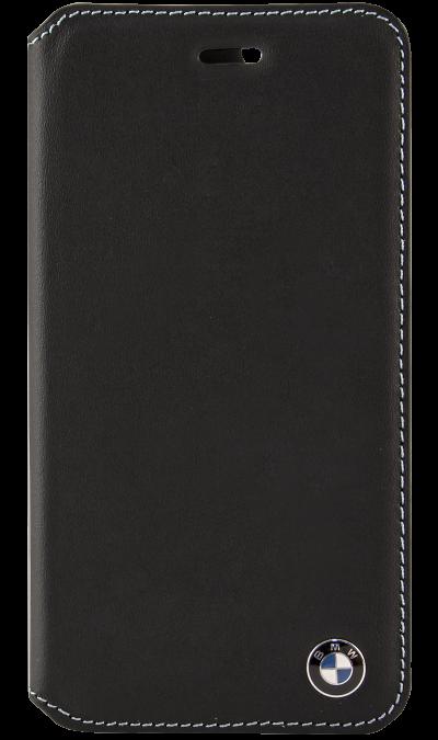 Чехол-книжка BMW BMFLBKP6CLB для Apple iPhone 6, кожа / пластик, черныйЧехлы и сумочки<br>Чехол BMW  поможет не только защитить ваш iPhone 6 от повреждений, но и сделает обращение с ним более удобным, а сам аппарат будет выглядеть еще более элегантным.<br><br>Colour: Черный