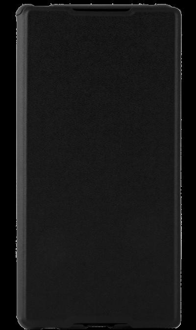 Muvit Чехол-книжка Muvit SEEAF0026 для Sony Xperia M4 Aqua, поликарбонат / полиуретан, черный сотовый телефон sony e2333 xperia m4 aqua dual lte coral