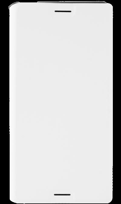 Чехол-книжка Muvit SEEAF0032 для Sony Xperia Z3+, поликарбонат / полиуретан, белыйЧехлы и сумочки<br>Чехол поможет не только защитить ваш Sony Xperia Z3+ от повреждений, но и сделает обращение с ним более удобным, а сам аппарат будет выглядеть еще более элегантным.<br><br>Colour: Белый