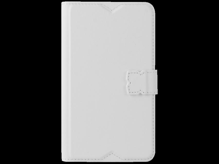 Чехол-книжка Muvit SESLI0135 для Sony Xperia E4, поликарбонат / полиуретан, белый