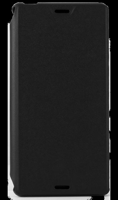 Чехол-книжка Muvit SESLI0130 для Sony Xperia Z3, поликарбонат / полиуретан, черныйЧехлы и сумочки<br>Чехол поможет не только защитить ваш Sony Xperia Z3 от повреждений, но и сделает обращение с ним более удобным, а сам аппарат будет выглядеть еще более элегантным.<br><br>Colour: Черный