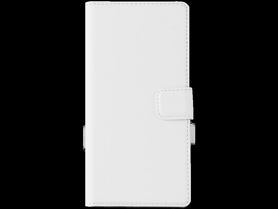 Чехол-книжка Muvit SEWAL0004 для Sony Xperia Z3, поликарбонат / полиуретан, белый