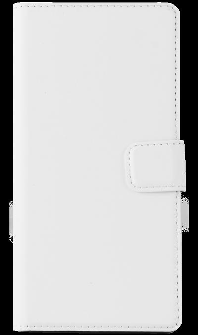 Muvit Чехол-книжка Muvit SEWAL0004 для Sony Xperia Z3, поликарбонат / полиуретан, белый
