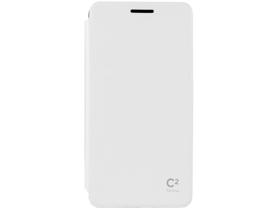 Чехол-книжка Uniq C2 для Samsung Galaxy A5, кожзам / резина, белый