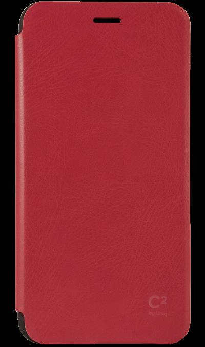 Чехол-книжка Uniq C2 для Apple iPhone 6 Plus, кожзам / пластик, красныйЧехлы и сумочки<br>Чехол поможет не только защитить ваш Apple iPhone 6 Plus от повреждений, но и сделает обращение с ним более удобным, а сам аппарат будет выглядеть еще более элегантным.<br><br>Colour: Красный