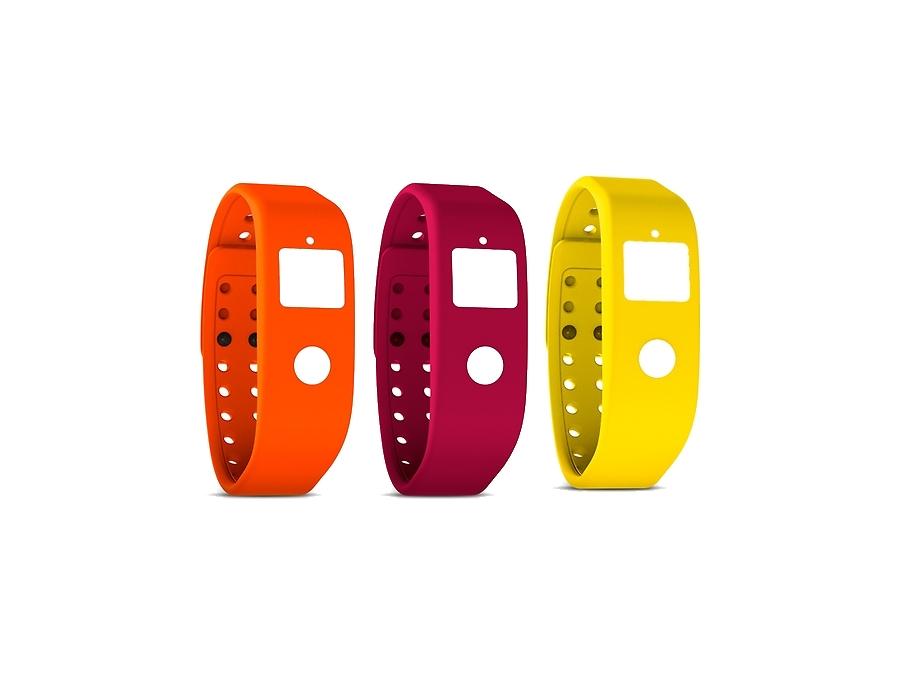 Комплект ремней Runtastic RUNORST1 для Orbit оранжевый, желтый, розовый