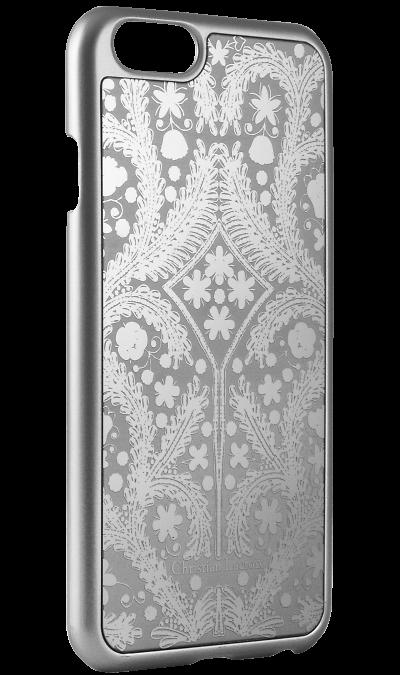 Christian Lacroix Чехол-крышка Christian Lacroix для Apple iPhone 6 узор , пластик, серебристый christian lacroix чехол крышка christian lacroix для apple iphone 5 5s se полиуретан черный