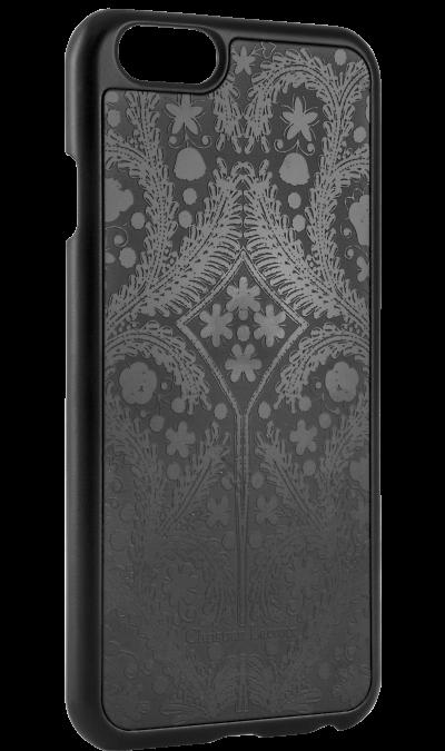 Чехол-крышка Christian Lacroix для Apple iPhone 6 узор , пластик, черныйЧехлы и сумочки<br>Чехол Christian Lacroix  поможет не только защитить ваш iPhone 6 от повреждений, но и сделает обращение с ним более удобным, а сам аппарат будет выглядеть еще более элегантным.<br><br>Colour: Черный