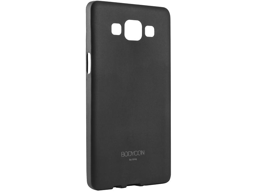 Чехол-крышка Uniq Bodicon для Samsung Galaxy A5, силикон, черный