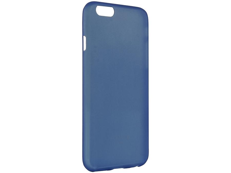 Чехол-крышка Uniq Bodycon для iPhone 6, силикон, синий