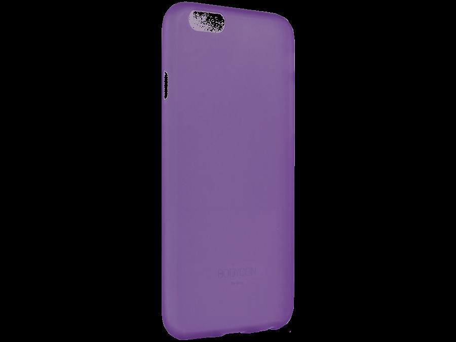 Чехол-крышка Uniq Bodycon для Apple iPhone 6, силикон, фиолетовый