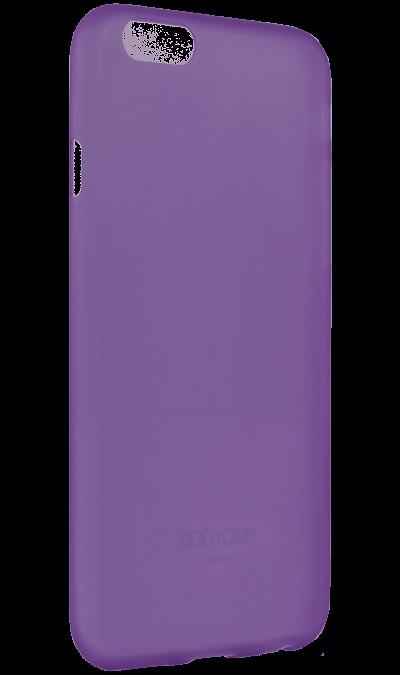 Чехол-крышка Uniq Bodycon для Apple iPhone 6, силикон, фиолетовыйЧехлы и сумочки<br>Чехол Uniq  поможет не только защитить ваш iPhone 6 от повреждений, но и сделает обращение с ним более удобным, а сам аппарат будет выглядеть еще более элегантным.<br><br>Colour: Фиолетовый