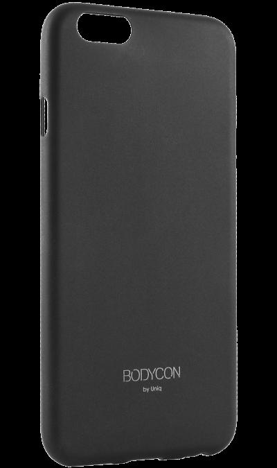 Чехол-крышка Uniq Bodycon для Apple iPhone 6, силикон, черныйЧехлы и сумочки<br>Чехол Uniq  поможет не только защитить ваш iPhone 6 от повреждений, но и сделает обращение с ним более удобным, а сам аппарат будет выглядеть еще более элегантным.<br><br>Colour: Черный