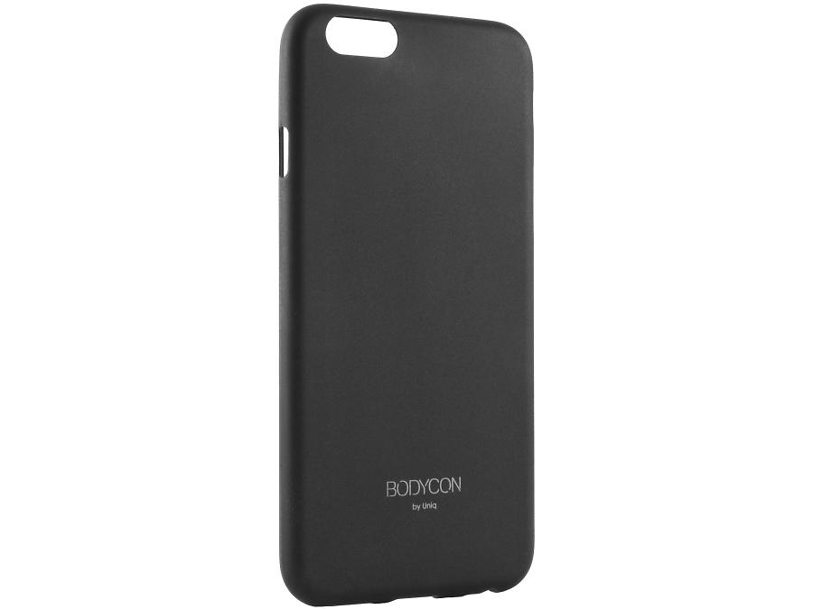 Чехол-крышка Uniq Bodycon для iPhone 6, силикон, черный