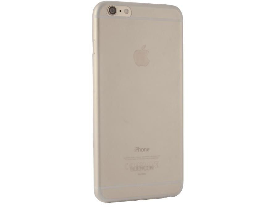 Чехол-крышка Uniq Bodycon для iPhone 6 Plus, силикон, прозрачный
