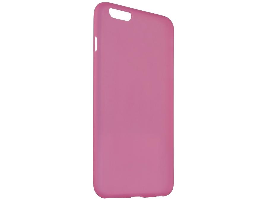 Чехол-крышка Uniq Bodycon для iPhone 6 Plus, силикон, розовый