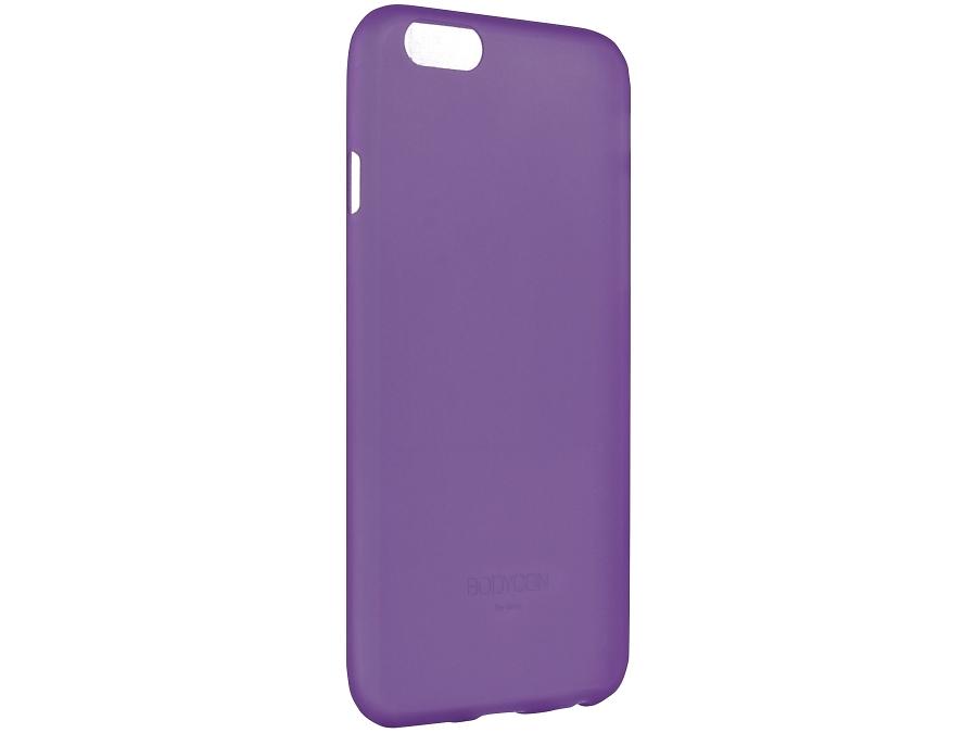 Чехол-крышка Uniq Bodycon для iPhone 6 Plus, силикон, фиолетовый