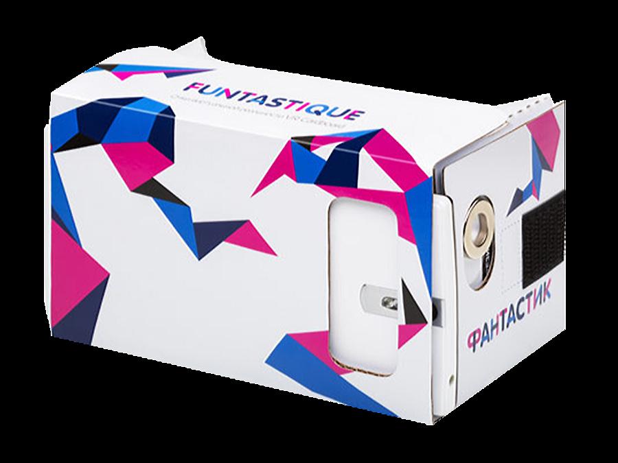 Funtastique Очки 3D Funtastique VR Cardboard