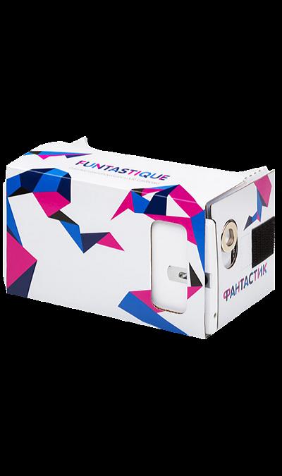 3D-очки Funtastique VR CardboardДругие устройства<br>Очки виртуальной реальности Funtastique 3D - запросто перенесут вас в удивительный мир виртуальной реальности. 3D очки виртуальной реальности для смартфона позволят вам очутиться на демо атракционах, поиграть в различные игры или посмотреть панорамное видео. 3D-очки виртуальной реальности из картона позволят вам пережить незабываемые эмоции и поднять уровень адреналина в крови не покидая своего дома или офиса. С ними вы сможете погонять на бешенной скорости на машине, прыгнуть с парашютом ...<br><br>Colour: Белый