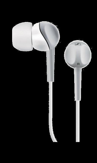 Sennheiser CX 213Наушники и гарнитуры<br>Инновационный дизайн наушников CX 213, рассчитанный под удобный захват пальцами, позволяет легко и быстро закрепить наушники в ушных каналах. Наушники имеют высокую степень защиты от окружающего шума, мощный, насыщенный НD звук и прекрасно подходят для использования в движении.<br><br>Colour: Белый