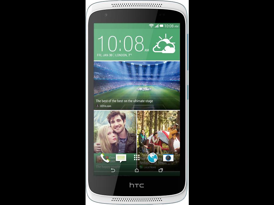 HTC HTC Desire 526G Dual Sim White\Blue htc u ultra sapphire blue 64gb