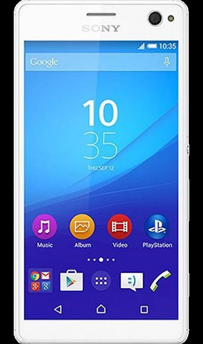 Sony Xperia C4Смартфоны<br>2G, 3G, 4G, Wi-Fi; ОС Android; Дисплей сенсорный емкостный 16,7 млн цв. 5.5; Камера 13 Mpix, AF; Разъем для карт памяти; MP3, FM,  GPS / ГЛОНАСС; Повышенная защита корпуса; Время работы 682 ч. / 12.5 ч.; Вес 147 г.<br><br>Colour: Белый