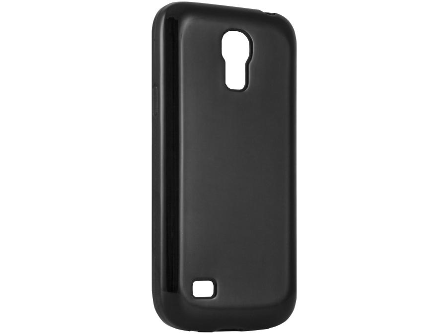 Чехол-крышка Muvit MUSKI0187 для Samsung Galaxy S4 mini, поликарбонат, черный