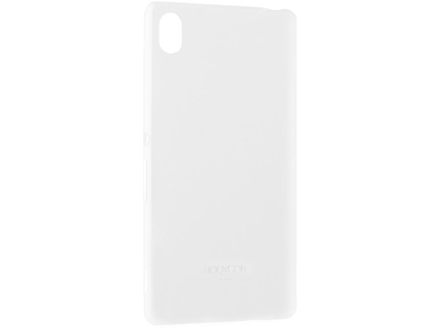 Чехол-крышка Uniq Bodicon для Sony Xperia Z3+, силикон, прозрачный