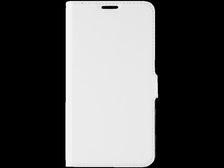Чехол-книжка Muvit MUSLI0641 для Samsung Galaxy S6, поликарбонат / полиуретан, белый