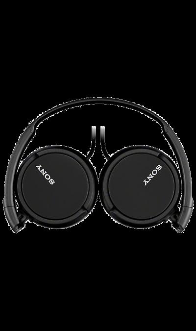Sony MDR-ZX110Наушники и гарнитуры<br>Динамические головки с неодимовым магнитом для четкого звука.<br>Легкие динамические головки с неодимовым магнитом диаметром 30 мм обеспечивают мощное и ритмичное звучание самых сложных для воспроизведения композиций. Благодаря высокочувствительному диффузору вы сможете увеличивать громкость музыки в наушниках, не прибегая к помощи усилителя, и наслаждаться чистейшим звуком на всем диапазоне частот.<br>Поворотные чашки и складная конструкция для путешествий.<br>Берите с ...<br><br>Colour: Черный