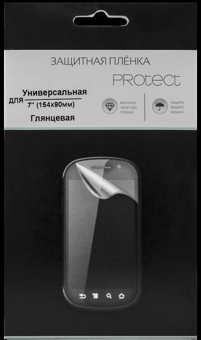 Protect Защитная пленка Protect 7'' (прозрачная) аксессуар защитная пленка protect для apple iphone x front
