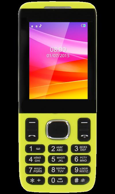VERTEX D503Телефоны<br>2G; Дисплей 65,5 тыс цв. 2.4; Камера 0.3 Mpix; Разъем для карт памяти; MP3, FM; Время работы 760 ч. / 6.0 ч.; Вес 80 г.<br><br>Colour: Желтый