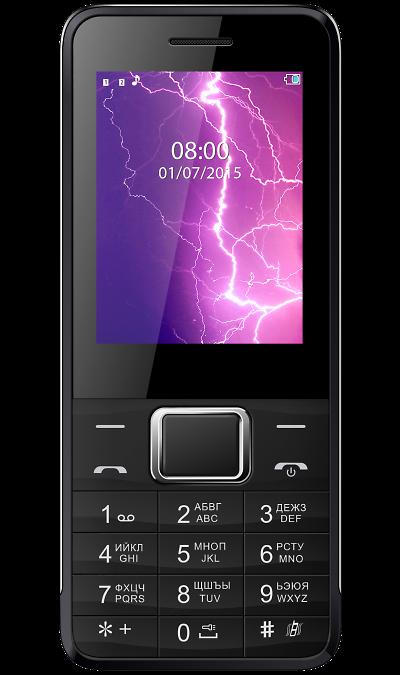 Vertex D505 Black\SilverТелефоны<br>2G; Дисплей 65,5 тыс цв. 2.4; Камера 0.3 Mpix; Разъем для карт памяти; MP3, FM; Время работы 720 ч. / 20.0 ч.; Вес 113 г.<br><br>Colour: Черный