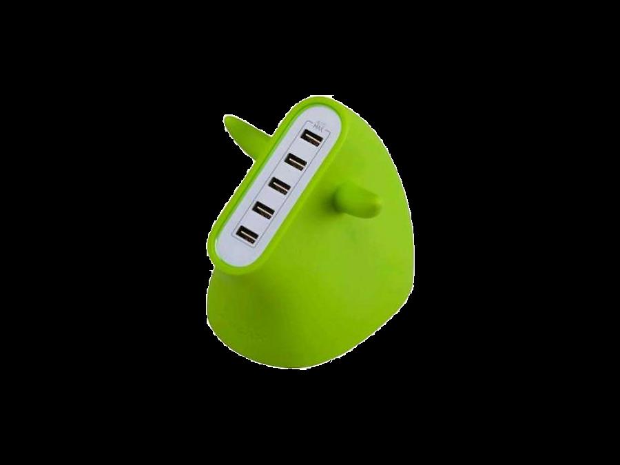 Зарядное устройство сетевое Momax U.BULL UM5SEUG Green