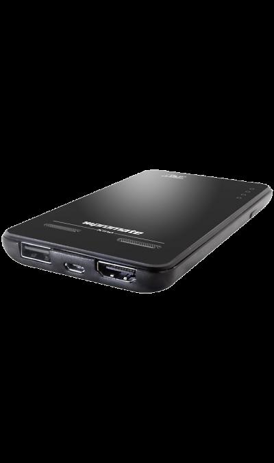 Promate KinoДругие устройства<br>Promate Kino - это мультимедийный карманный проектор со встроенным аккумулятором. Инновационная технология DLP c возможностью проекции до 60 дюймов с двумя встроенными динамиками не может не оправдать ваших ожиданий. Наличие HDMI/MHL портов решит вопрос, если вы захотите увеличить экран или добавить громкость звука. Одним словом - полноценный кинотеатр в маленьком карманном девайсе.<br>Особенности:<br><br>Promate Kino позволяет проецировать контент с любого совместимого устройства. ...<br><br>Colour: Черный
