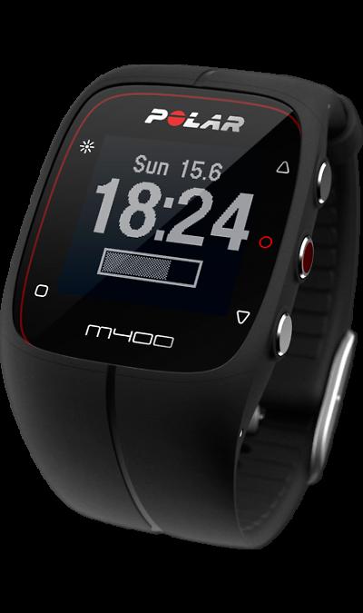 все цены на Polar Фитнес-браслет Polar M400 Black онлайн
