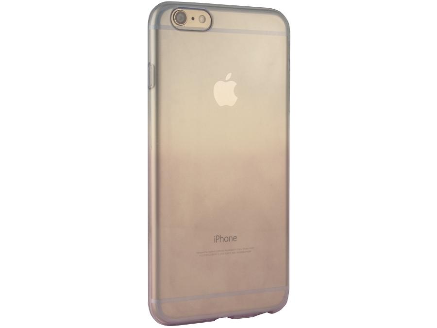 Чехол-крышка Gresso для iPhone 6 фиолетово-голубой, силикон, прозрачный