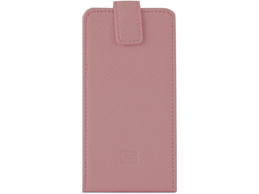 Чехол-книжка Gresso универсальный 3.5-4.5'', кожзам, розовый