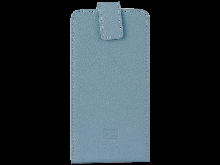 Чехол-книжка Gresso универсальный 4.5-5.2'', кожзам, голубой