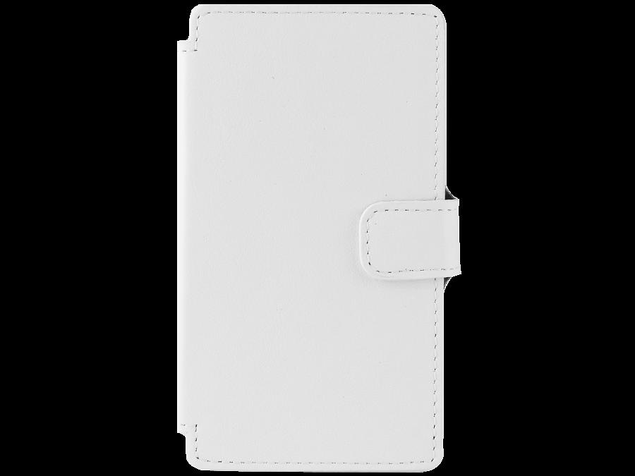 Чехол-книжка OxyFashion универсальный 4'', кожа, белый