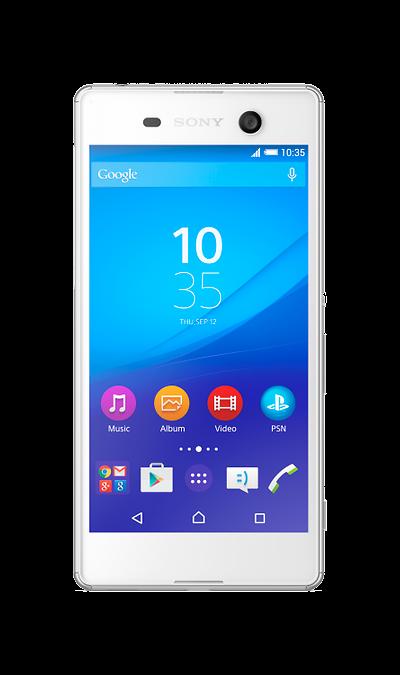Sony Xperia M5Смартфоны<br>2G, 3G, 4G, Wi-Fi; ОС Android; Камера 21.5 Mpix, AF; Разъем для карт памяти; MP3, FM,  GPS / ГЛОНАСС; Повышенная защита корпуса; Время работы 656 ч. / 12.0 ч.; Вес 143 г.<br><br>Colour: Белый