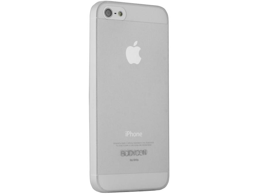 Чехол-крышка Uniq Bodycon для Apple iPhone 5, силикон, прозрачный