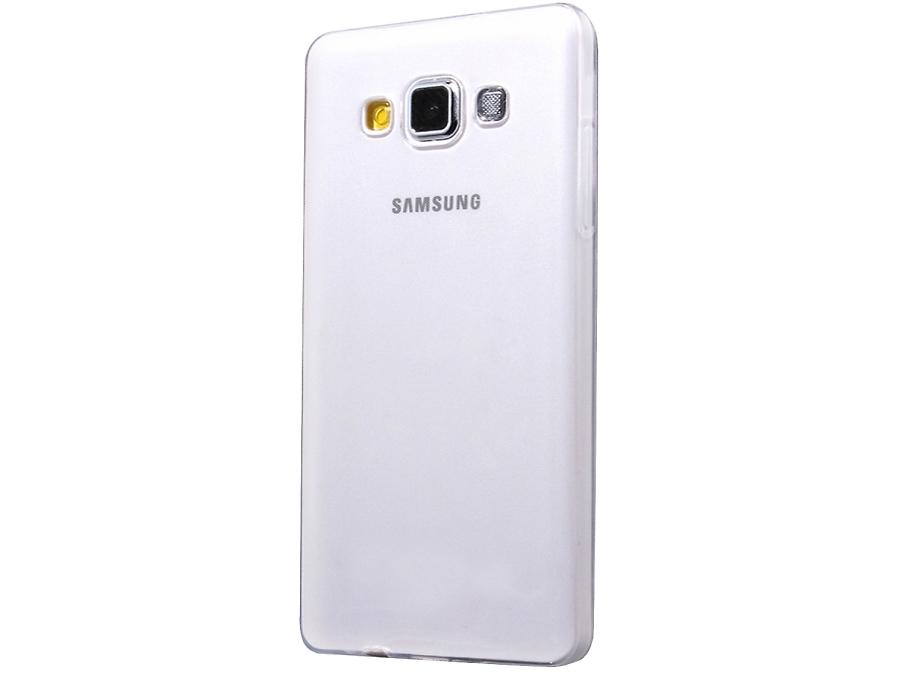 Чехол-крышка Uniq Glase для Samsung Galaxy A5, силикон, прозрачный