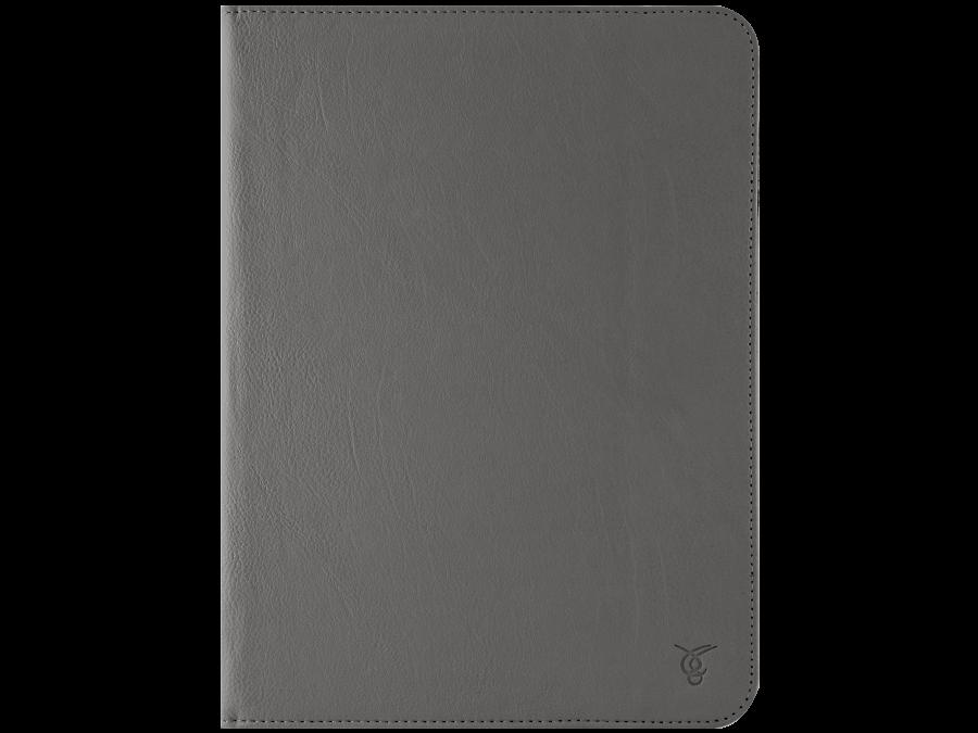 Чехол-книжка VIVACASE универсальный 10'', кожзам, серый