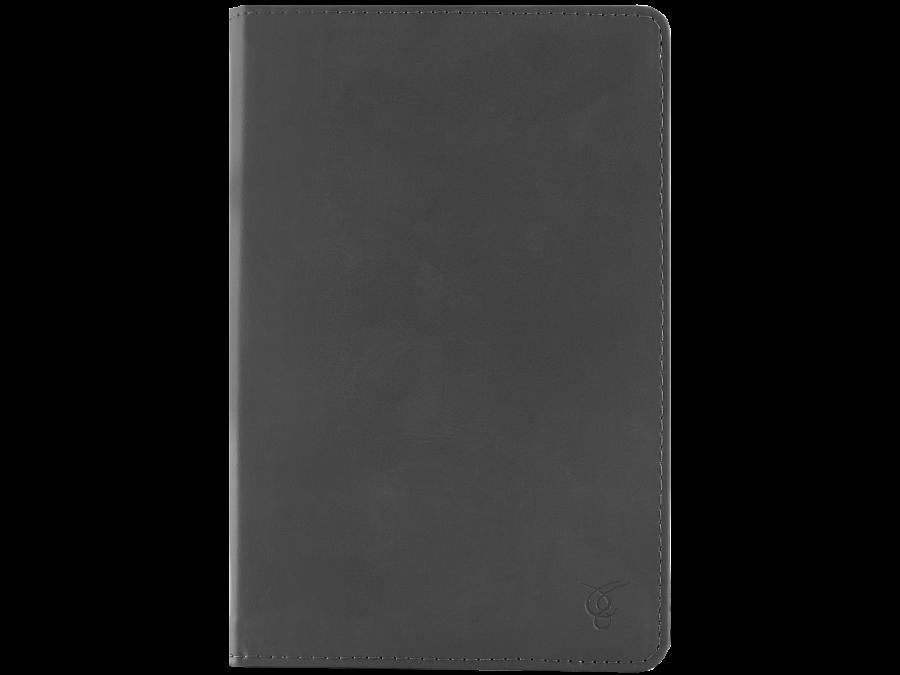 Чехол-книжка VIVACASE универсальный 7'' , кожзам / иск. замша, серый