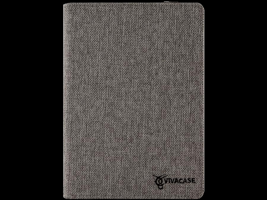 Чехол-книжка VIVACASE универсальный 7'', ткань, серый