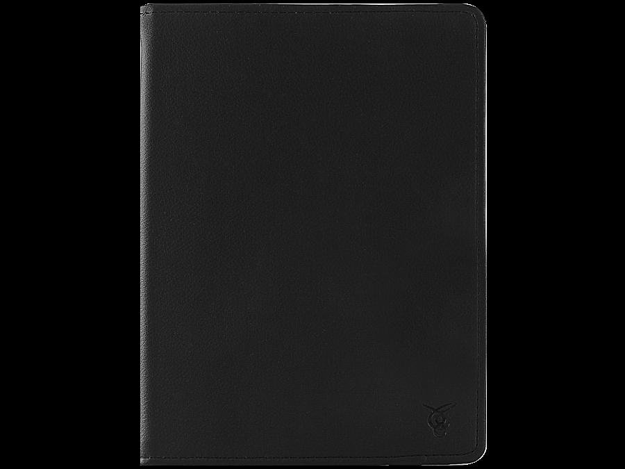 Чехол-книжка VIVACASE универсальный 9'', кожзам / иск. замша, черный