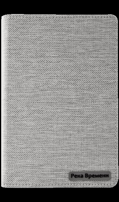 Чехол-книжка СФМ Река Времени универсальный 7'', ткань, белый