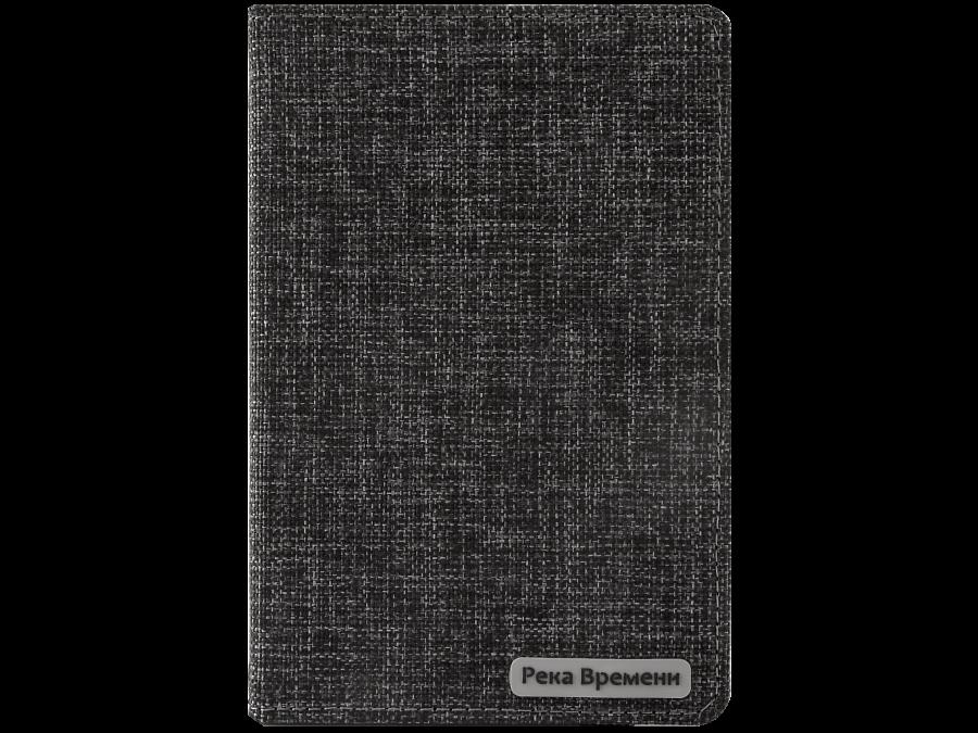 Чехол-книжка СФМ Река Времени универсальный 7'' , ткань, черный